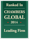 Ranked in Chambers Global 2014