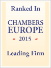 Leading Firm - Chambers Europe - 2015