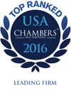 Ranked In USA Chambers' 2016 Leading Individual