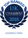 Chambers UK top ranked logo