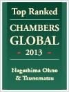 Chambers Global 2013 - Nagashima Ohno & Tsunematsu