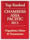 Chambers Asia Pacific 2013 - Nagashima Ohno & Tsunematsu