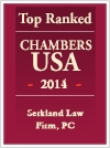 Top ranked Chambers 2014