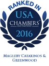 Ranked in USA Chambers' 2016 | Magleby Cataxinos & Greenwood