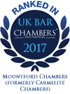 Ranked in Chambers UK 2017