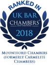 Ranked in Chambers UK 2018