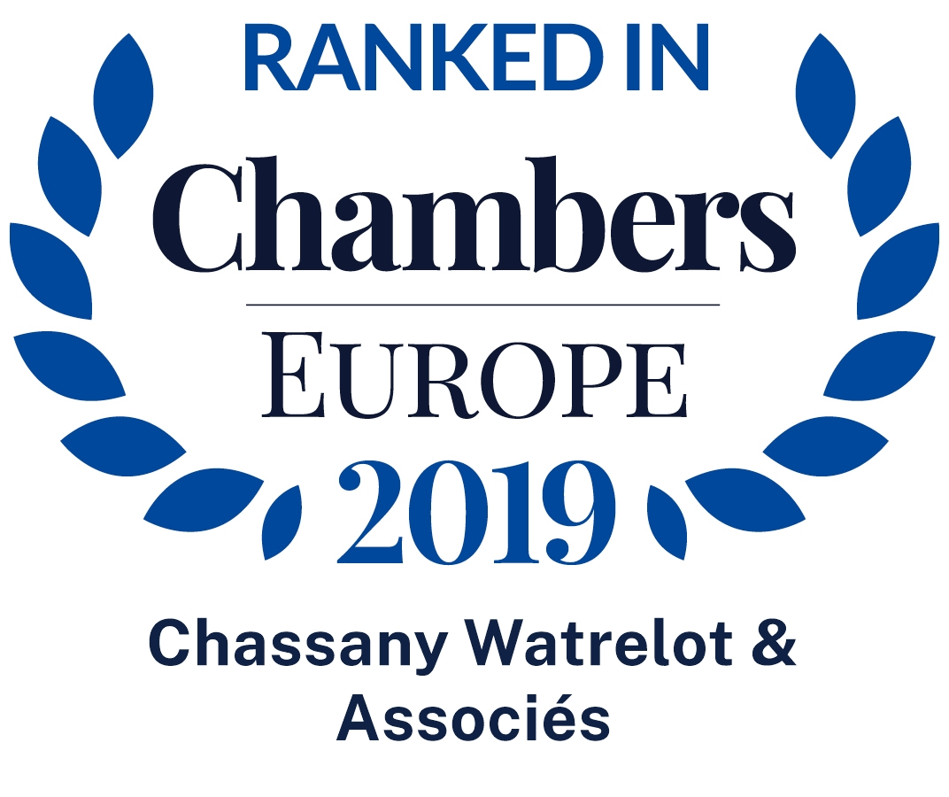 Chassany Watrelot & Associés ranked among the best French law firms in employment law (Chambers Europe 2019)