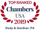 Chambers USA 2019 Top Ranked logo