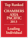 Chambers Asia Pacific 2013 - Leading Individual