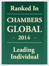 Jeffrey Roy, Chambers Global, Leading individual 2014 badge