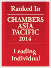 Chambers Asia Pacifice 2014 - Leading Individual