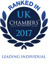 Lucy Gregory - Ranked in UK Chambers 2017