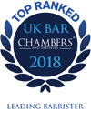 Top Ranked – UK Bar Chambers 2018 – Leading Barrister