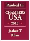 Joshua Klein Chambers badge