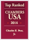 Top Ranked Chambers USA - 2014 - Charles Pear