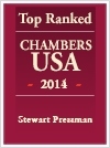 Top Ranked Chambers USA - 2014 - Stewart Pressman