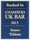 Tibbitts, Simon - Ranked In Chambers and Partners UK Bar Directory 2015