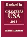 Sharon Malheiro Ranked Chambers USA 2015