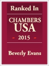 Beverly Evans Ranked Chambers USA 2015