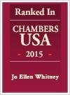 Jo Ellen Whitney Ranked Chambers USA 2015