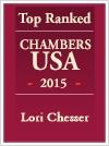 Lori Chesser Top Ranked Chambers USA 2015