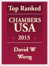 Top Ranked | Chambers USA 2015 | David W. K. Wong