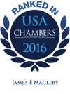 Ranked in USA Chambers' 2016 | James E. Magleby