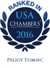 Ranked in USA Chambers' 2016 | Peggy Tomsic
