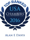 Alan E. Davis Top Ranked in Chambers USA 2016