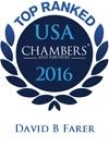David B. Farer Top Ranked in Chambers USA 2016