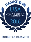 Robert S. Goldsmith Ranked in Chambers USA 2016