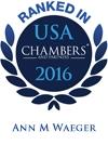 Ann M. Waeger Ranked in Chambers USA 2016