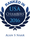 Alan S. Naar Ranked in Chambers USA 2016