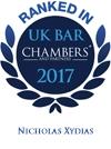 Nick Xydias Chambers logo