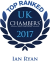 Ian Ryan: Chambers and partners top rank