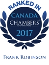 Frank Robinson Chambers 2017 Ranking Logo