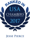 Ranked in USA chambers 2017