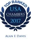 Alan E. Davis Ranked in Chambers USA 2017
