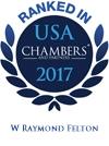 W. Raymond Felton Ranked in Chambers USA 2017