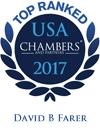 David B. Farer Ranked in Chambers USA 2017