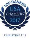 Christine F. Li Ranked in Chambers USA 2017