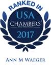 Ann M. Waeger Ranked in Chambers USA 2017