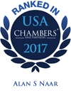 Alan S. Naar Ranked in Chambers USA 2017