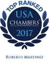 Top ranked in Chambers USA  - Roberto Martinez