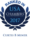 Ranked in Chambers USA  - Curtis B. Miner