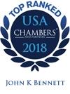 USA Chambers 2018 - John K. Bennett