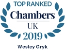 Ranked in Chambers UK 2019