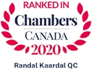 Ranked in Chambers Canada 2020