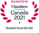 Ranked in Chambers Canada 2021